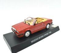 Model Car Scale 1/43 collection Maserati Biturbo Spyder. diecast Edicola