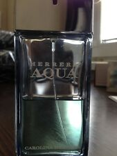 Carolina Herrra Aqua EDT 100ml - used / 45% full / VERY RARE