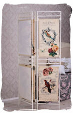 Room Divider Metal Screen Paravent Vintage Shabby Chic