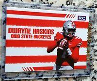 DWAYNE HASKINS 2019 #1 Draft Pick Rookie Card RC Logo Redskins Ohio State HOT $$
