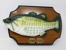 Gemmy Big Mouth Billy Bass Singing Fish Take Me To The River 1999