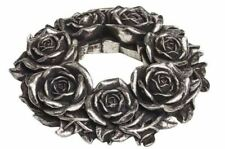Wreath - Wall Hanging/Table Decoration Alchemy England - Black Rose