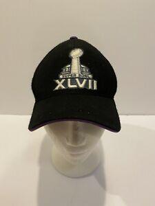 Super Bowl XLVII '47 NFL Ice Clean Up Ravens vs 49ers New Orleans Hat Cap Black