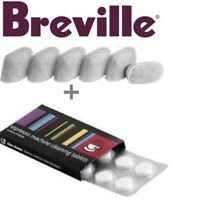 BREVILLE Espresso Accessories. 1 x 8 Cino Cleano Tablets & 1 x 6 Water Filters
