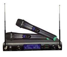 Coppia Microfoni Professionali Wireless 100m Con Ricevitore Tekone Wg-4000 hsb