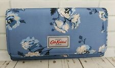 Cath Kidston Travel Document Holder Island Bunch Mid Blue Colour New with Tag