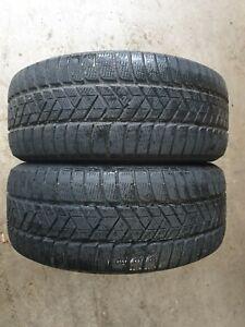 2x 245/50 R18 100H Pirelli Winter SZ 3 * rsc runflat  - 5,6mm Restprofil