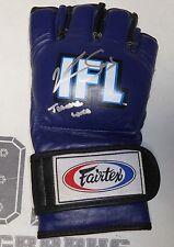 Krzysztof Soszynski Signed Ifl Fight Glove Training Worn Used Psa/Dna Ufc Auto'd