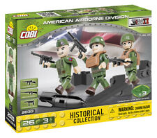 BRICKS COBI 2033 SMALL ARMY AMERICAN AIRBORNE DIVISION 26 ELEMENT NEW