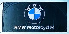 BMW FLAG MOTORCYCLES BLACK - SIZE 150x75cm (5x2.5 ft) - BRAND NEW
