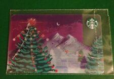 NEW!!!RUSSIA, STARBUCKS RUSSIAN CARD,2017,TREE CHRISTMAS,SEALED