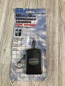 Nokia 5100/6100 Wireless Gear Rapid Emergency Charger Model EM300 Portable NOS