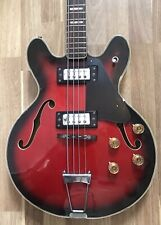 Antoria Hollow body Bass guitar. Vintage Ibanez MIJ 70's