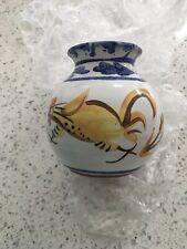 Vase With Chicken Decoration