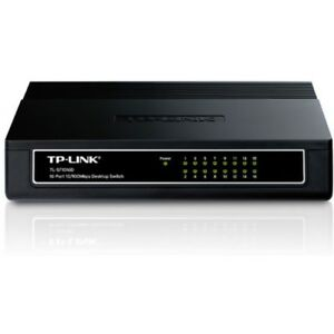 TPLINK Ethernet Network 16 Port TP Link LAN Desktop Switch Office Home Internet