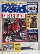 Cycle World Magazine September 1994 955 Ducati Honda XR400R KTM Duke 620 Yamaha