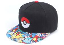 Anime Pokemon Go Unisex Hat Hip-hop Baseball Cap for Men and Women
