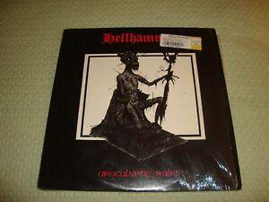 Hellhammer Apocalyptic Raids Original 1984 Vinyl Metal Blade Enigma Shrink  NM