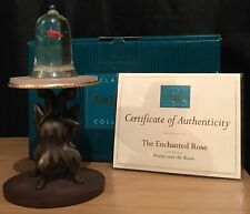 Wdcc / Walt Disney Classic Collection The Enchanted Rose Figurine Boxed With Coa