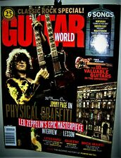 Led Zeppelin Physical Graffiti Guitar World Magazine May 2005 10 Guitars Cf