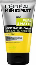 L'Oreal Men Expert Pure & Matte Desert Clay Yellow Foam FACE WASH 100 ML FS