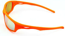 Mohawk BEAR Antislip Coated Sports Cycling Sunglasses Flourescent Orange Y135