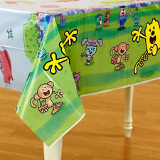 WOW! WOW! WUBBZY PLASTIC TABLE COVER ~ Birthday Party Supplies Decorations Table