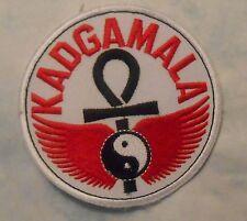 "KADGAMALA Patch - Martial Arts - 3 1/2"" x 3 1/2"""