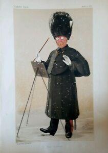 Dan Godfrey, Conductor Musician Vanity Fair Spy Cartoon Original Print 1888 Rare