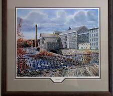 """Andy Wyeth signed """"American Thread"""" Framed Print #979/1000"""