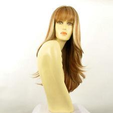 Perruque femme longue blond foncé méché blond clair KENTA F27613
