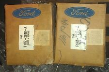 Set of 2 !! Genuine Ford Heavy Truck / Sterling F1HZ-2018-A Shoe & Lining Kit