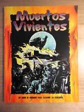 Libro Rol.Muertos Vivientes.Expansion de Cazador La Venganza.La Factoria