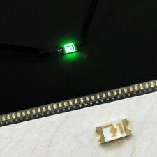 5 x 1206 Emerald Green Super Bright LED SMD SMT Bulb Lamp Light High Brightness