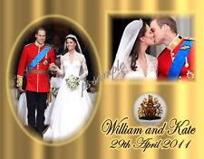 William & Kate #1 - Royal Wedding  - Flexible Fridge Magnet