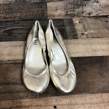 Guess Shiny Gold Womens Shoes Size 8