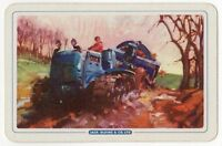Playing Cards 1 Single Card Old JACK OLDING Tractor Advertising FARMER Farming 2