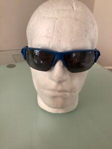Spy+ Alpha sunglasses blue with grey mirror lens cycle run sports