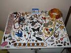 Interesting Lot Of Vintage / Antique Jewellery - Repair, Spares, Crafts