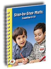 Step by Step Math Counting Drawing Numbers 0-10 Pre-K & K Activities Stickers