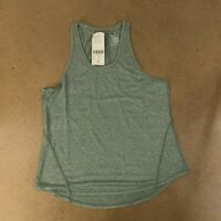 Sweaty Betty Women's Size Medium Sage Green Energize Workout Tank Top NWT