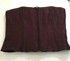 Jessica McClintock Millennium 2000 Corset Bustier Purple Made in USA Size 10