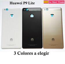 "Tapa Trasera Bateria para ""Huawei P9 Lite"" Cubierta Repuesto Blanca Negra Dorada"
