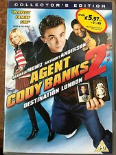 Frankie Muniz AGENT CODY BANKS 2 ~ 2004 Family Spy Comedy Sequel | UK DVD