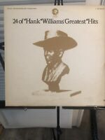 24 OF HANK WILLIAMS' GREATEST HITS LP - VINYL - SE-4755-2 - (1976) ALBUM - EX!!