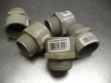 """qty 5 - CANTEX 1-1/4"""" Male Terminal Adapter 5140106 USA Seller"""
