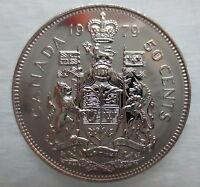 1979 CANADA 50 CENTS PROOF-LIKE HALF DOLLAR COIN