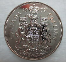 1979 CANADA 50 CENTS PROOF-LIKE COIN