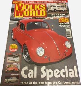 Volks World Magazine Febuary 2004 - BEETLE BUG BUS KOMBI VW CAMPER