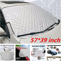 Universal Car Front Windscreen Anti Frost Ice Snow Sun Shade Protector Cover New